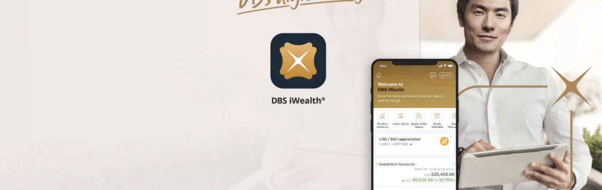 Start 2021 with DBS Treasures and gain full control of your wealth