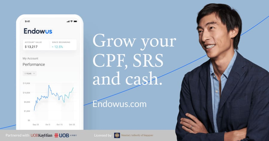 Review of Investing my CPF and SRS funds with Endowus