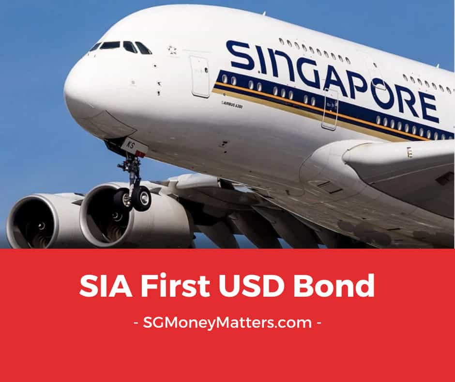 Singapore Airlines (SIA) First USD Bond
