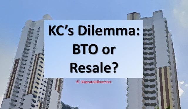 KC asks readers: BTO or Resale HDB? (Dilemma)