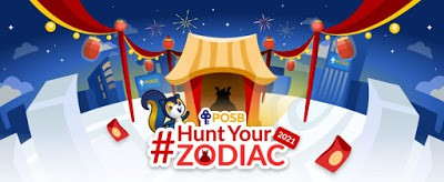 How to Play Smart (Earn more) for DBS/POSB's #HuntYourZodiac
