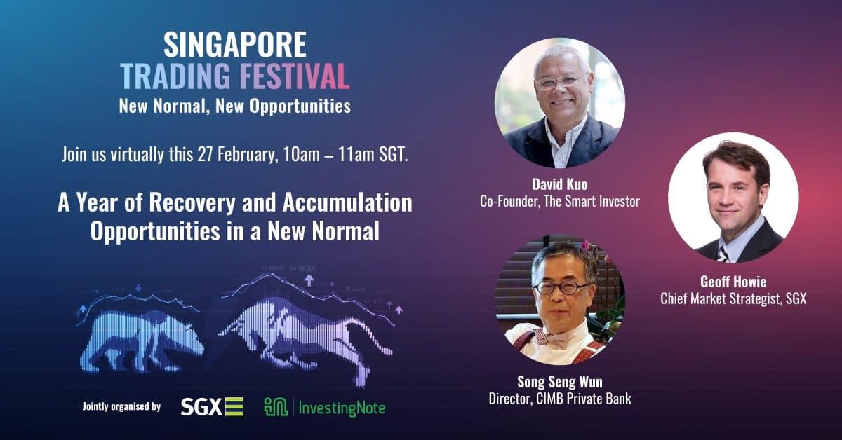Singapore Trading Festival 2021 – Featured Speakers!