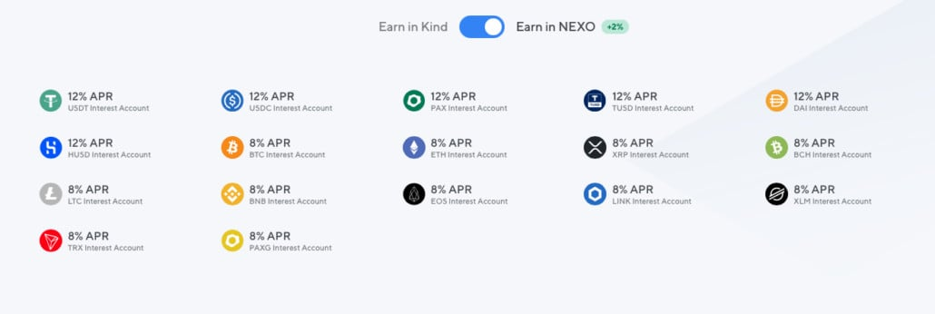Nexo Review – earn up to 12% interest on cryptocurrencies