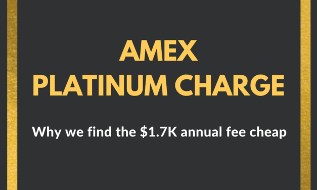 Amex Platinum Charge Card: Why we find the $1.7k annual fee cheap