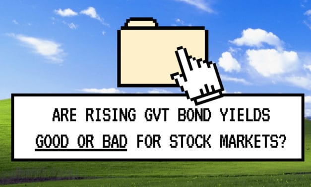 Are rising govt bond yields good or bad for stock markets?
