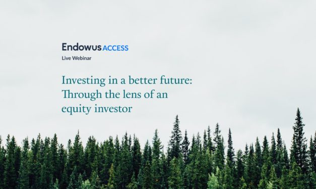 Webinar: Investing in a better future: Through the lens of an equity investor