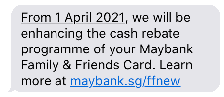 Big Nerf: Changes to Maybank Family and Friends' 8% Cashback
