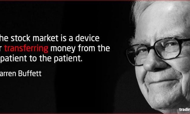 Things We Remind Ourselves When The Market Goes Crazy