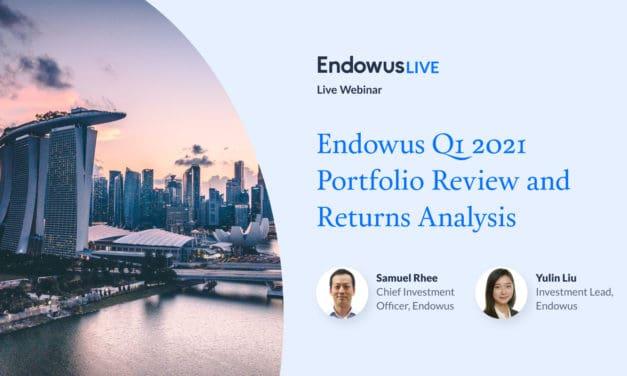 🟡 Endowus Q1 2021 Portfolio Review and Returns Analysis