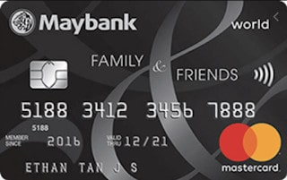 Plebeians, Say Goodbye to Maybank Family and Friends Card