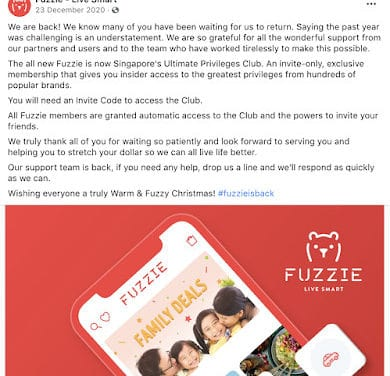 Fuzzie – Is It Worth Paying For Singapore's By-Invitation-Only Privileges Club?