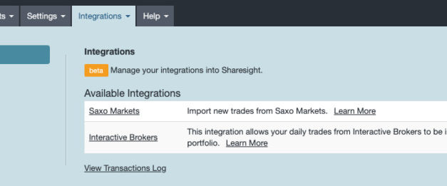 Guide to automated portfolio tracking with Sharesight / IBKR integration