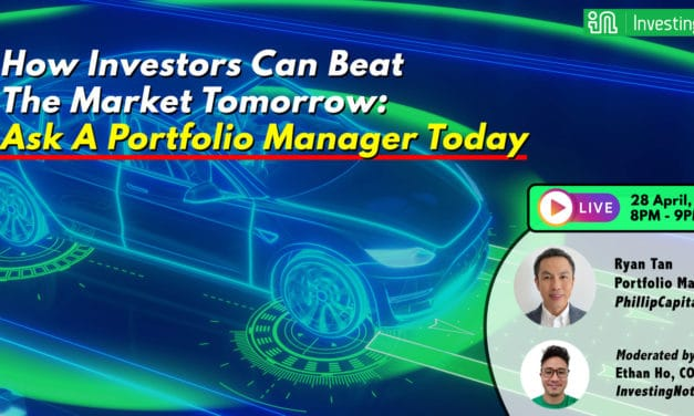 Upcoming LIVE Webinar: How Investors Can Beat The Market Tomorrow:  Ask A Portfolio Manager Today