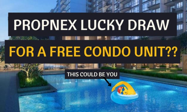 """PropNex 20th Anniversary Lucky Draw: """"Treasure at Tampines"""" Condo Unit (for 1 winner) + S$50k cash (among 9 winners)"""