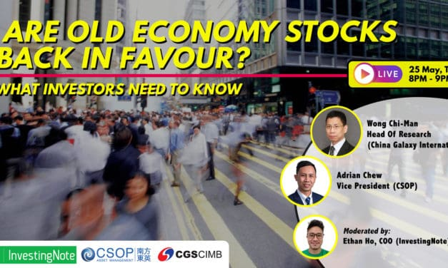 Upcoming LIVE Webinar: Are Old Economy Stocks Back In Favour?