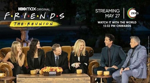 The one with the Friends: The  Reunion episode