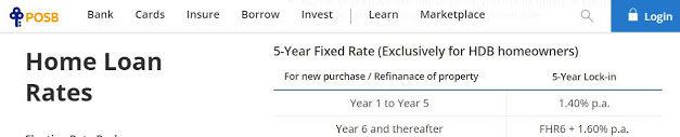 How I reduce my POSB fixed 1.4% home loan to 0.85% via POSB cashback bonus