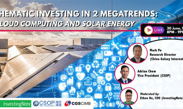 Upcoming Webinar: Thematic Investing in 2 Megatrends – Cloud Computing and Solar Energy