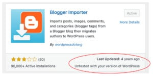 Rolf's New Blog Page – From Blogger to WordPress