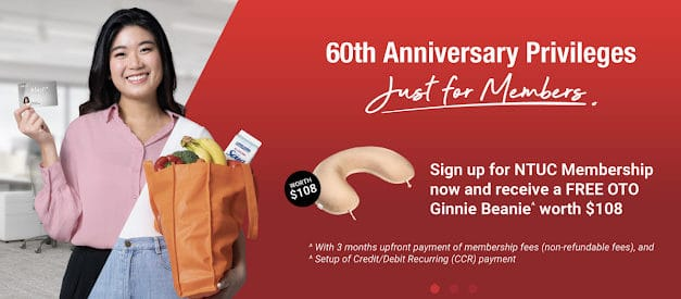 Here's What You Can Save With NTUC's 60th Birthday!