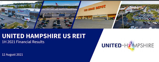 United Hamsphire US REIT- High Distribution Yield of 8.1% And Points To Note If Investing In It.