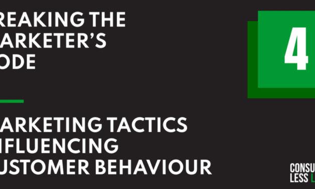 BTMC – Marketing Tactics Influencing Customer Behaviour – Chapter 4