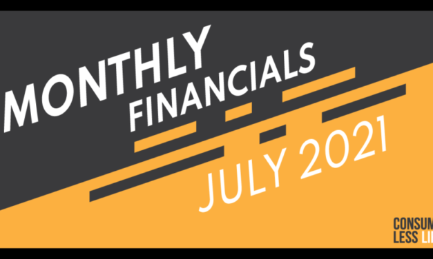 Monthly Financials – July 2021