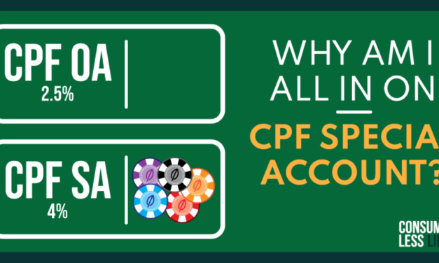 Why Am I All In On CPF Special Account?
