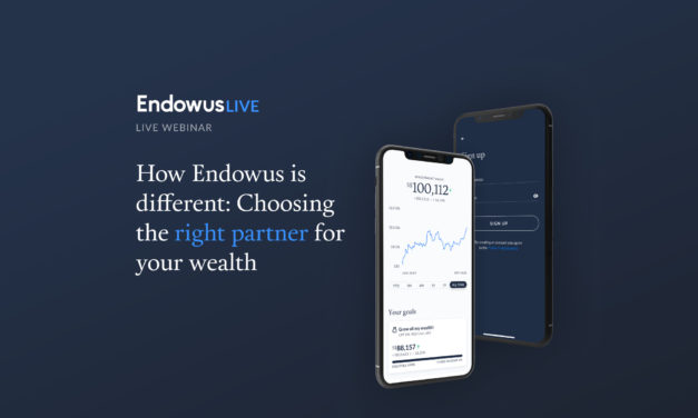 Webinar: How Endowus is different: Choosing the right partner for your wealth