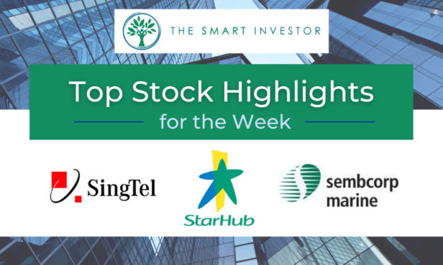 Top Stock Highlights of the Week: StarHub, Sembcorp Marine and Singtel-Bharti