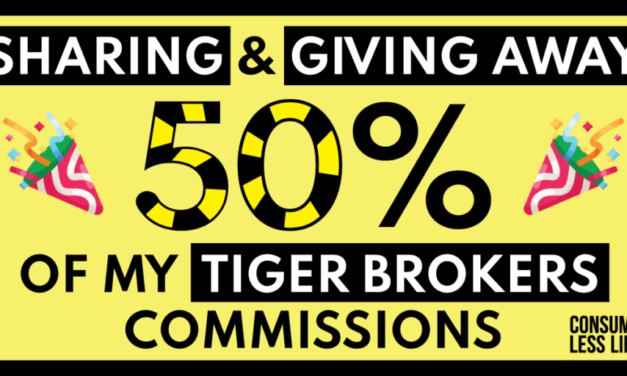 Sharing And Giving Away 50% Of My Tiger Brokers Commissions